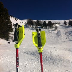 Photo taken at Stade de slalom by Renaud F. on 3/9/2014