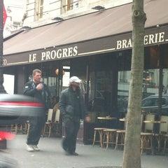 Photo taken at Le Progrès by Renaud F. on 11/28/2013