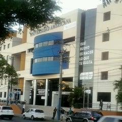 Photo taken at Universidad Americana by Fabio O. on 4/11/2013