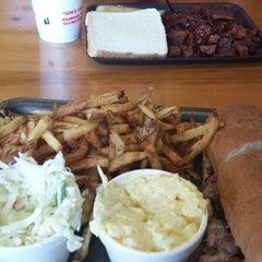 Photo taken at Bates City BBQ by Noah P. on 7/20/2014