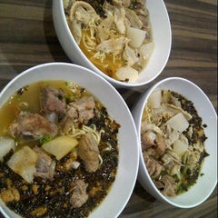 Photo taken at Soto Mie Agih Sukabumi by susan h. on 6/6/2013