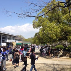 Photo taken at 大阪府立大学 中百舌鳥キャンパス by Kanako K. on 4/17/2015