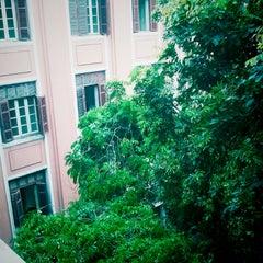 Photo taken at Đại Học Thuỷ Lợi by Đinh T. on 4/18/2013