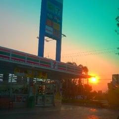 Photo taken at ปั้ม ปตท อ.สีดา by hana a. on 3/23/2014