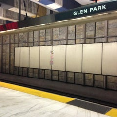 Photo taken at Glen Park BART Station by Beau Y. on 5/6/2013
