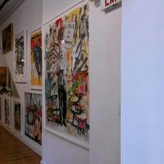 Photo taken at Pop International Galleries by Clau P. on 9/13/2014