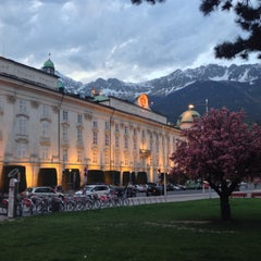 Photo taken at Hofburg Innsbruck by Bruno B. on 5/5/2015