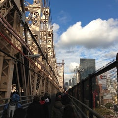 Photo taken at Ed Koch Queensboro Bridge by Brian C. on 10/31/2012