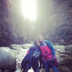 Photo taken at Seymour Mountain by Nadheera U. on 1/6/2014