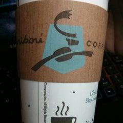 Photo taken at Caribou Coffee by Jäke S. on 3/11/2013