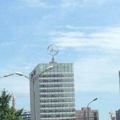 Photo taken at 戴姆勒大厦 Daimler Tower by Philipp on 7/25/2013
