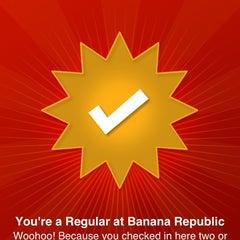 Photo taken at Banana Republic by Capsun P. on 9/8/2013