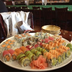 Photo taken at Sushi X: All You Can Eat Sushi by Christopher C. on 4/26/2013