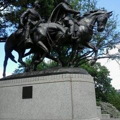 Photo taken at Robert E. Lee Park by Elizabeth P. on 4/21/2013