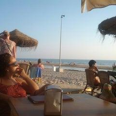 Photo taken at Chiringuito La Ola Bar by Albert D. on 9/19/2013