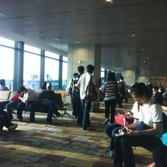 Photo taken at Gate D42 by Firdaus S. on 11/10/2012