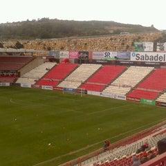 Photo taken at Gimnàstic de Tarragona by Luis M. on 5/19/2013