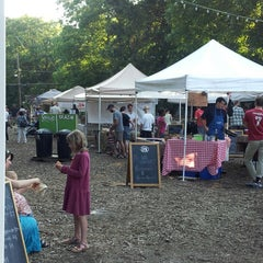 Photo taken at East Atlanta Village Farmers Market by Traci S. on 6/20/2013