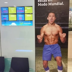 Photo taken at Movistar by Carlos M. on 6/12/2014