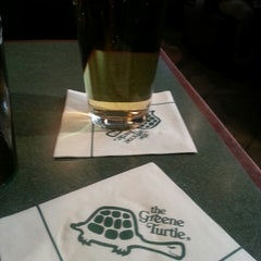 Photo taken at The Greene Turtle by Lora K. on 4/21/2013