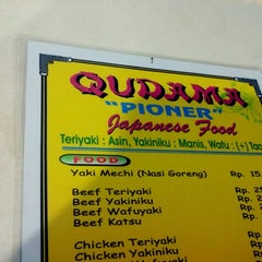 Photo taken at Qudama Japanese Food by Fransiscus D. on 2/24/2013