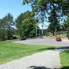 Photo taken at SE 32nd st. Park by Stephen H. on 7/23/2013
