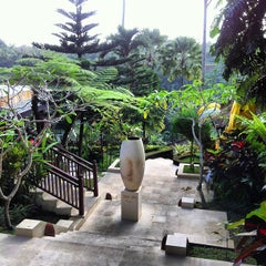 Photo taken at Kupu Kupu Barong Resort And Tree Spa by Regga B S. on 7/25/2013