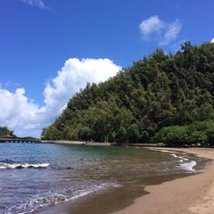 Photo taken at Hana Beach Park by Olof M. on 9/21/2014