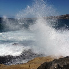 Photo taken at Clovelly Beach by Kevin R. on 9/15/2012