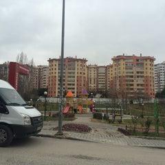 Photo taken at Teoman Öztürk Parkı by Zehra E. on 1/3/2015