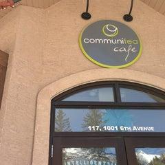 Photo taken at Communitea Cafe by Jesse B. on 4/1/2013