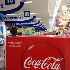 Photo taken at hypermart by khairunnisa p. on 3/11/2014