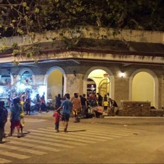Photo taken at Plaza Del Pilar by Cedrick Z. on 1/31/2016