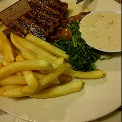 Photo taken at SteakHotel by Holycow! by annisaniy on 5/16/2013