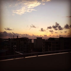 Photo taken at Snowfield Terrace by Hana A. on 9/1/2014