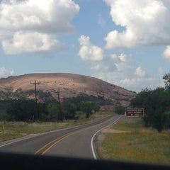 Photo taken at Enchanted Rock State Natural Area by Becky S. on 5/26/2013