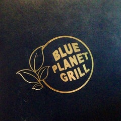 Photo taken at Blue Planet Grill by Desiree D. on 7/28/2013