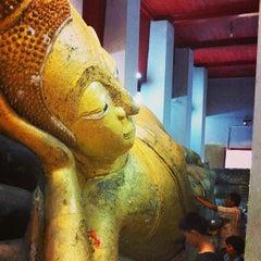 Photo taken at วัดธรรมิกราช (Wat Thammikarat) by Pongpun M. on 1/27/2013