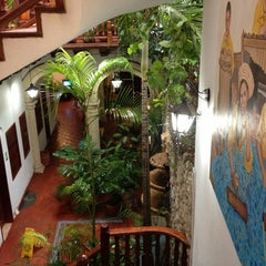 Photo taken at Hotel Casa del Curato Cartagena de Indias by Glow S. on 9/28/2013