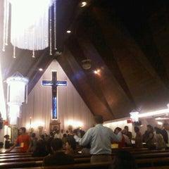 Photo taken at Gereja Katolik Santo Yohanes Penginjil by Greg R. on 3/30/2013