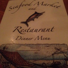 Photo taken at Seafood Market & Restaurant by Davin M. on 10/3/2013