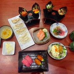 Photo taken at Sushi Tei by Dayang Nur Jazlyn on 10/11/2015