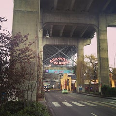 Photo taken at Granville Island by Isabel M. on 2/21/2013