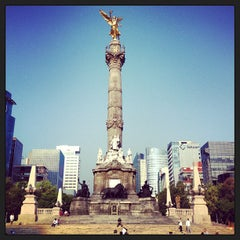 Photo taken at Monumento a la Independencia by Margaret S. on 5/19/2013