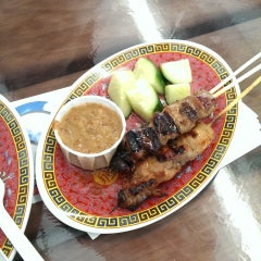 Photo taken at Satay Brothers by Chris on 6/28/2013