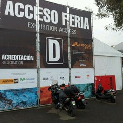 Photo taken at Espacio Riesco - Expomin 2012 by Danilo M. on 4/13/2012