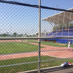 Photo taken at Polideportivo Tigres UANL by Yvette A. on 5/17/2015