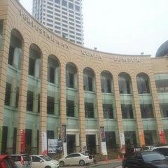 Photo taken at Perpustakaan Kuala Lumpur (Library) by Syafiq K. on 10/18/2015