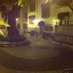 Photo taken at Largo do Lilau / Lilau Square 亞婆井前地 by Jack C. on 4/20/2014