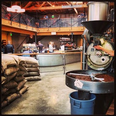 Photo taken at Sightglass Coffee by Ariel D. on 4/5/2013